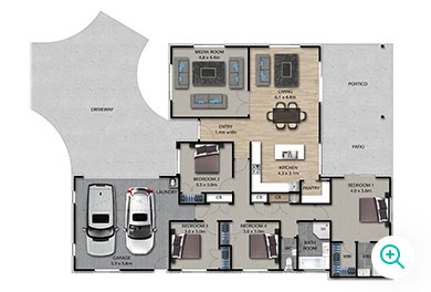 Palace Developments Wallace floor plan