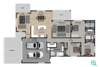Palace Developments new project floor plan